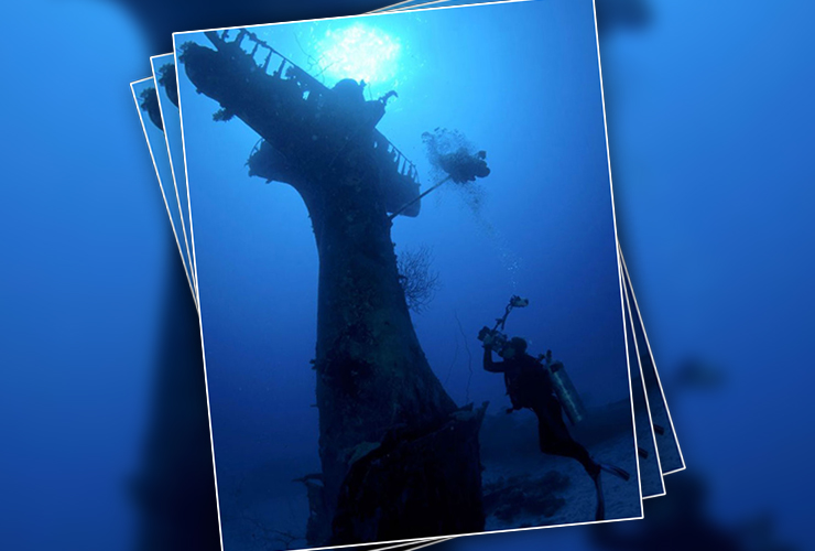 Underwater Airplane Graveyard