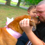 Family Reunited With Dog Kidnapped Two Years Ago