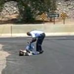 Good Samaritan Gives Homeless Man Shoes