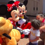 Disney Characters Greet Deaf Boy With Sign Language