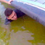 Cop Rescues Boy Trapped Under Dock