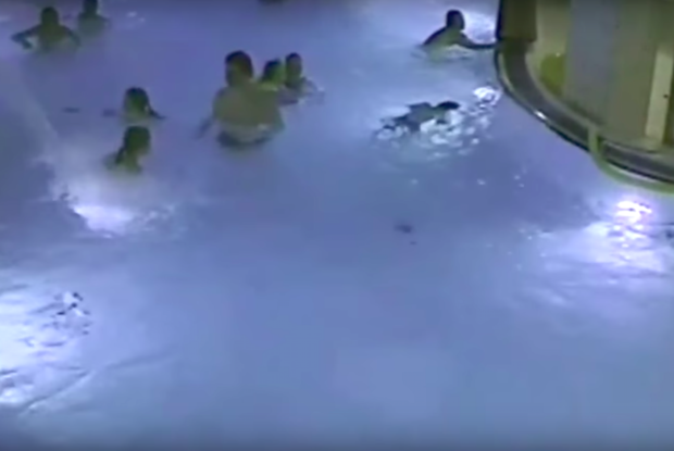 Little Boy Almost Drowns In Public Pool And No One Notices