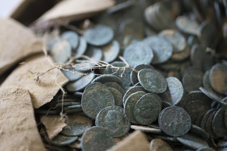 Roman Coins Discovered in Spain