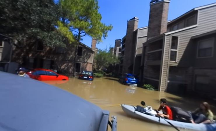 Three Brothers Rescue Victims of Hurricane Harvey