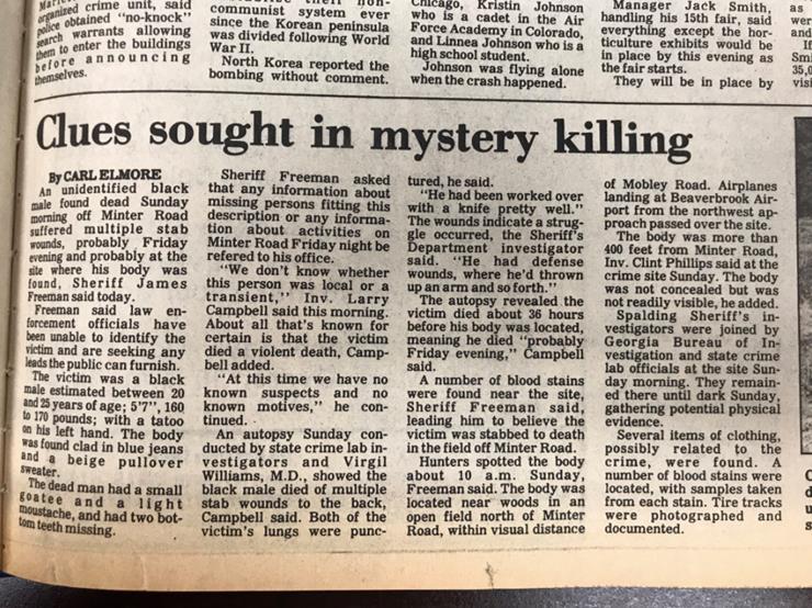 Timothy Coggins Story