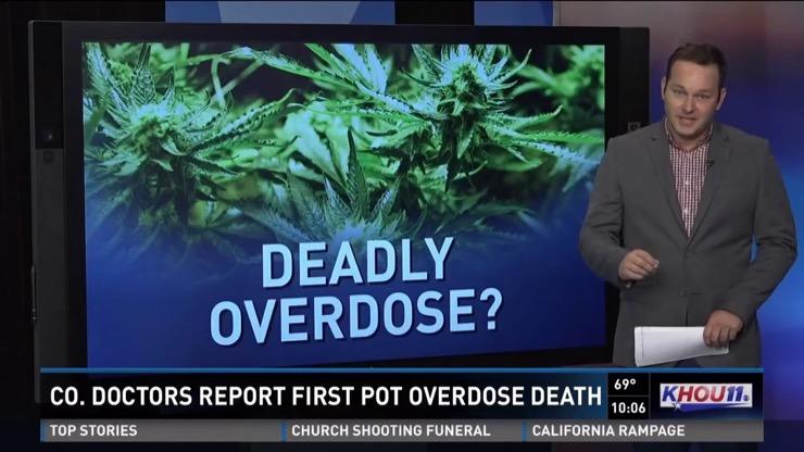 Marijuana Overdose Story