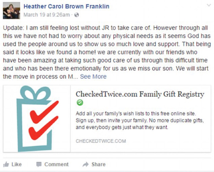 Heather Franklin Story
