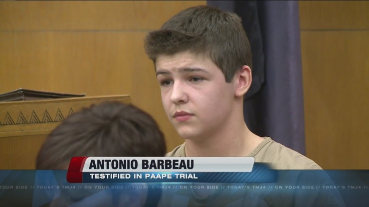 Antonio Barbeau Story