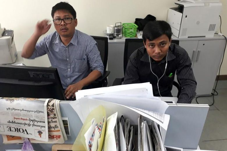Journalists Jailed for Reporting On Rohingya Incidents