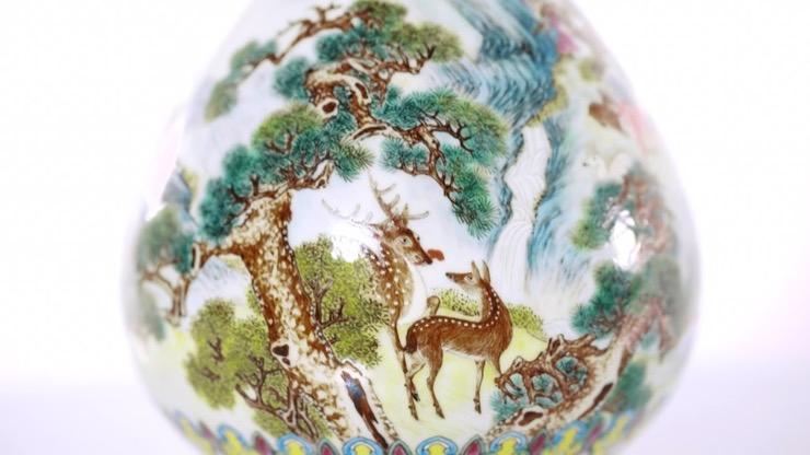 Qing Dynasty Vase Story
