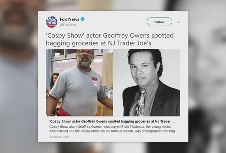 Geoffrey Owens Story