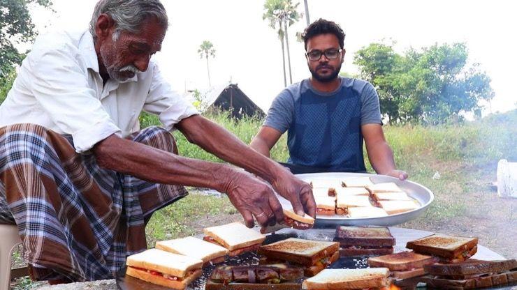 Grandpa Kitchen Story