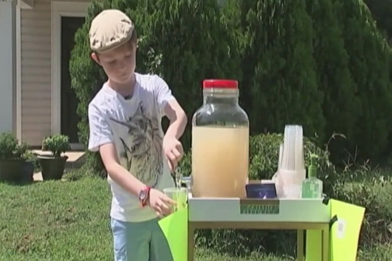 9-Year-Old Lemonade Stand Robbed Story