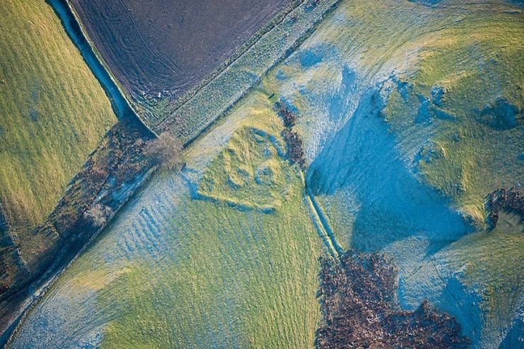 British Aerial Archeology Story