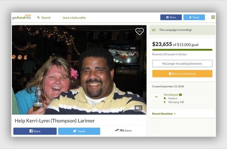 Kerri-Lynn Larimer Story