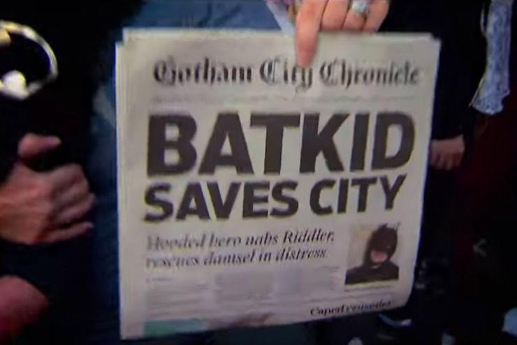 Miles Scott Batkid Story