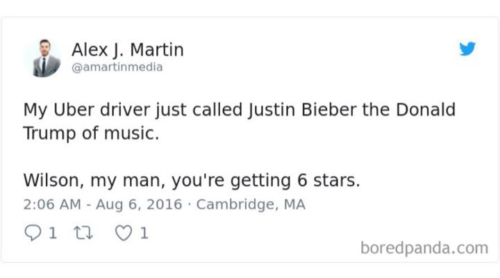 Uber Driver Reviews