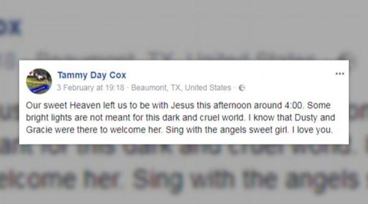 Heaven Ray Cox Story