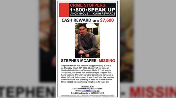 Stephen Mcafee Story