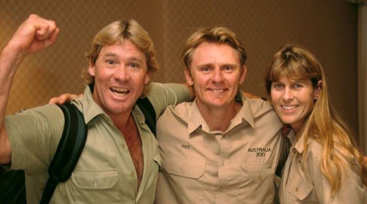 Steve Irwin Grappling Story