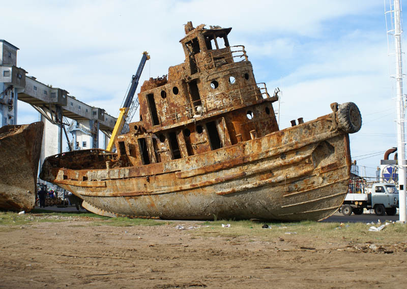 Shipwreck at Mar Del Plata