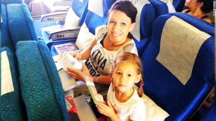 Hally Family MH17 Flight
