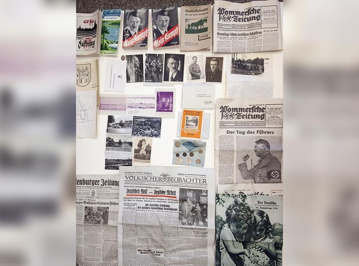 Nazi Time Capsule Story