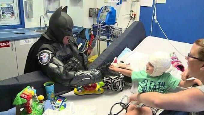 Cop Dressed As Batman Stops Walmart Shoplifter