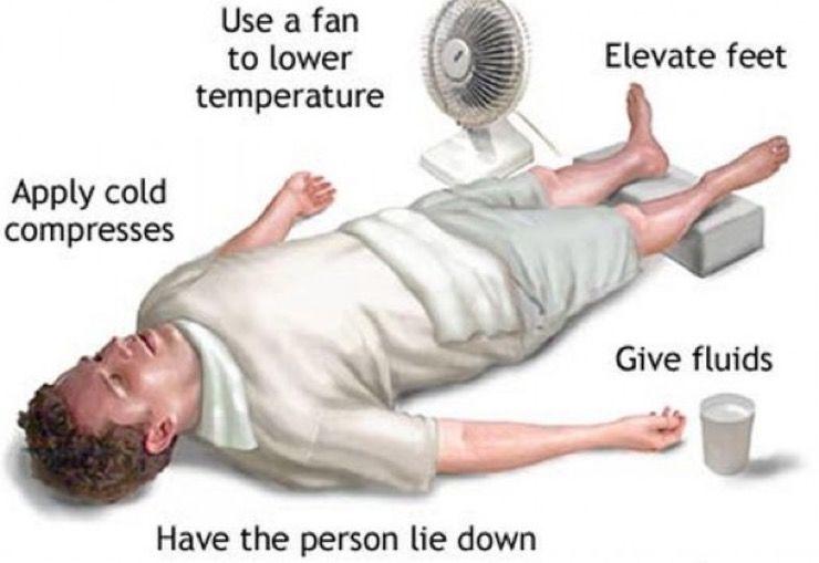 Prevent Heat Stroke Story