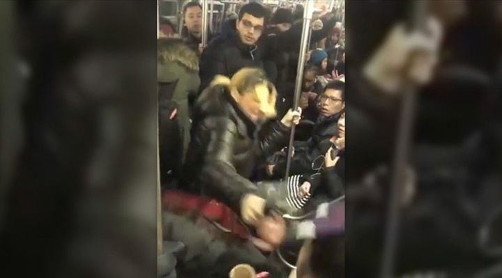 Subway Hero Citizen's Arrest